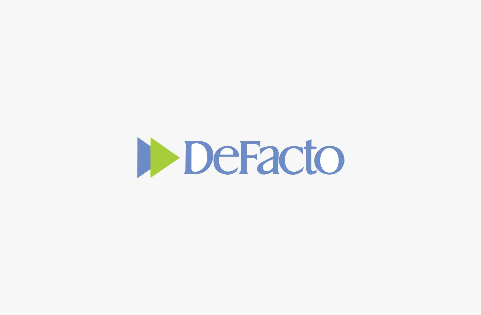 defacto-logo
